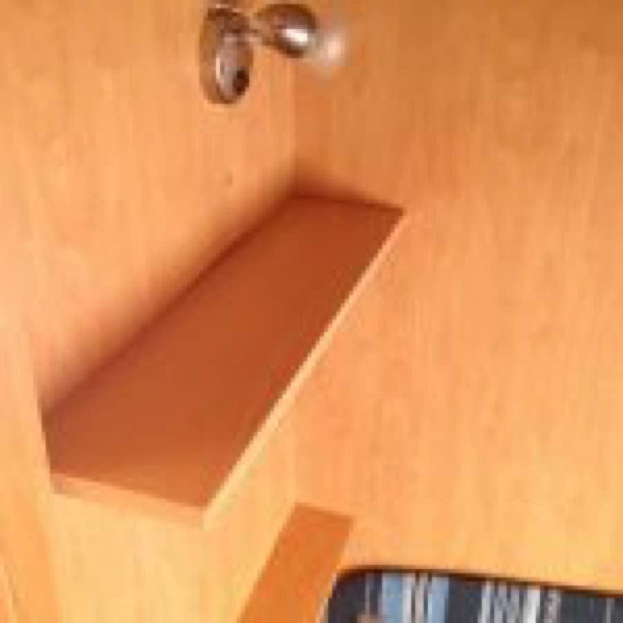 Installazione mensola caravan