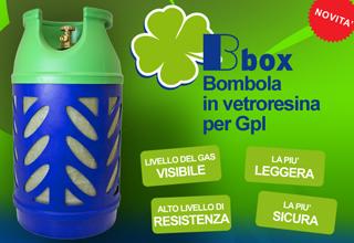 Bombole in vetroresina per GPL Bbox Beyfin
