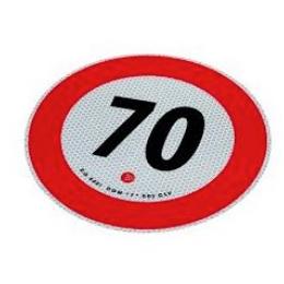 70 adesivo limite velocita