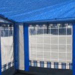 Interno veranda caravan