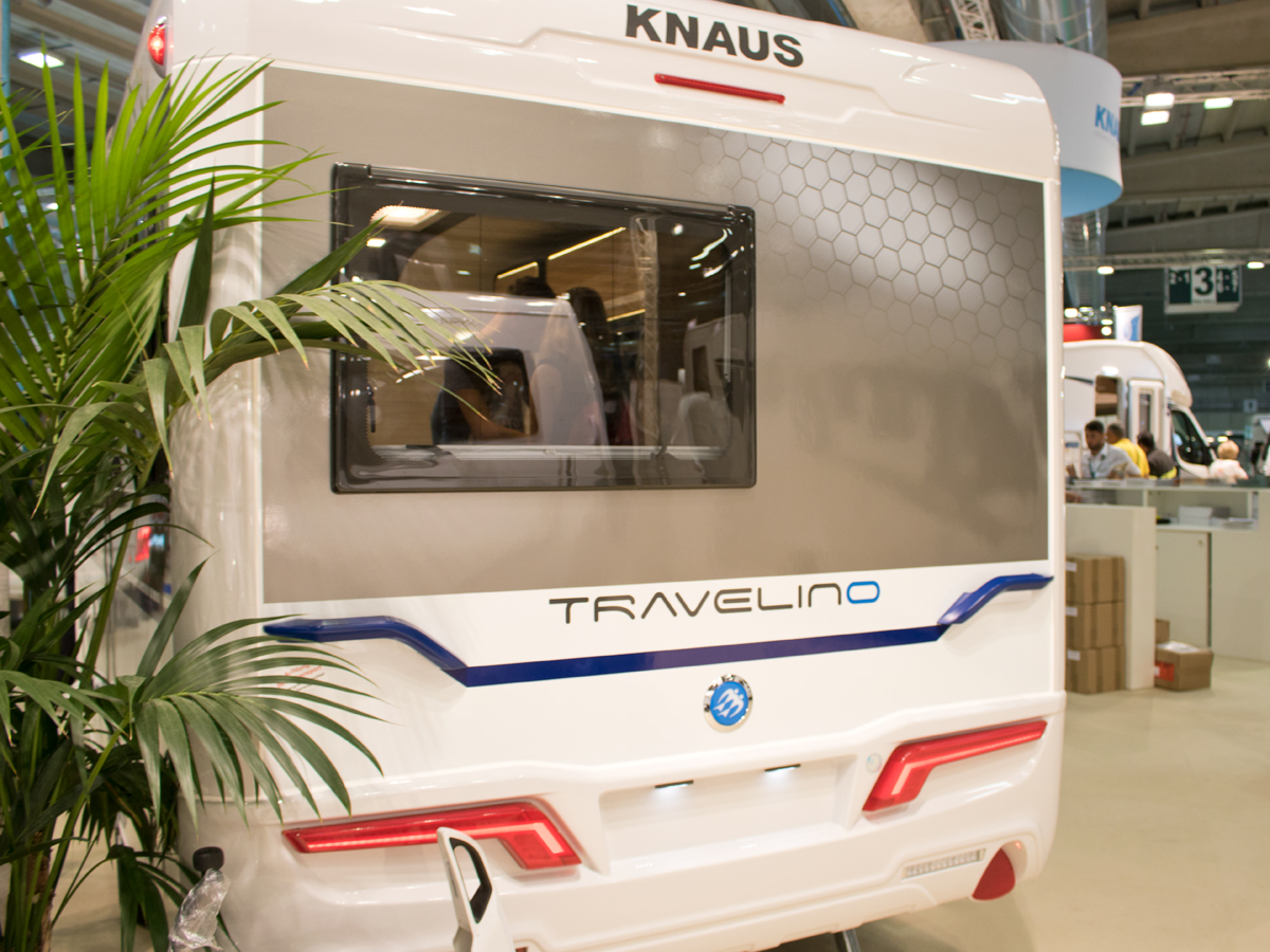Knaus Travelino: la caravan leggera