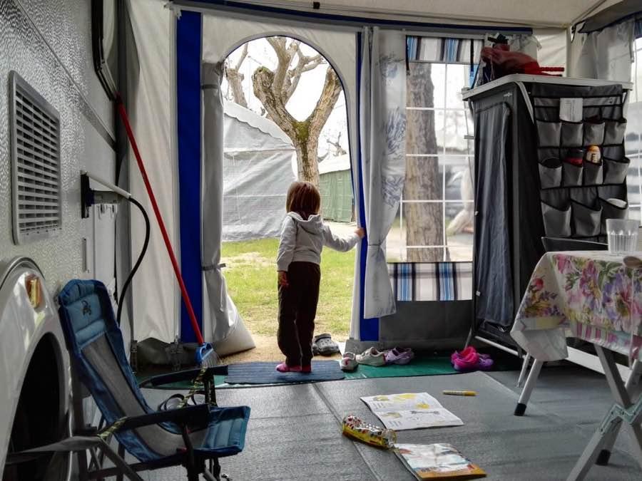 Stare in campeggio con i bambini