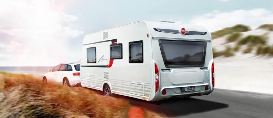 Burstner caravan