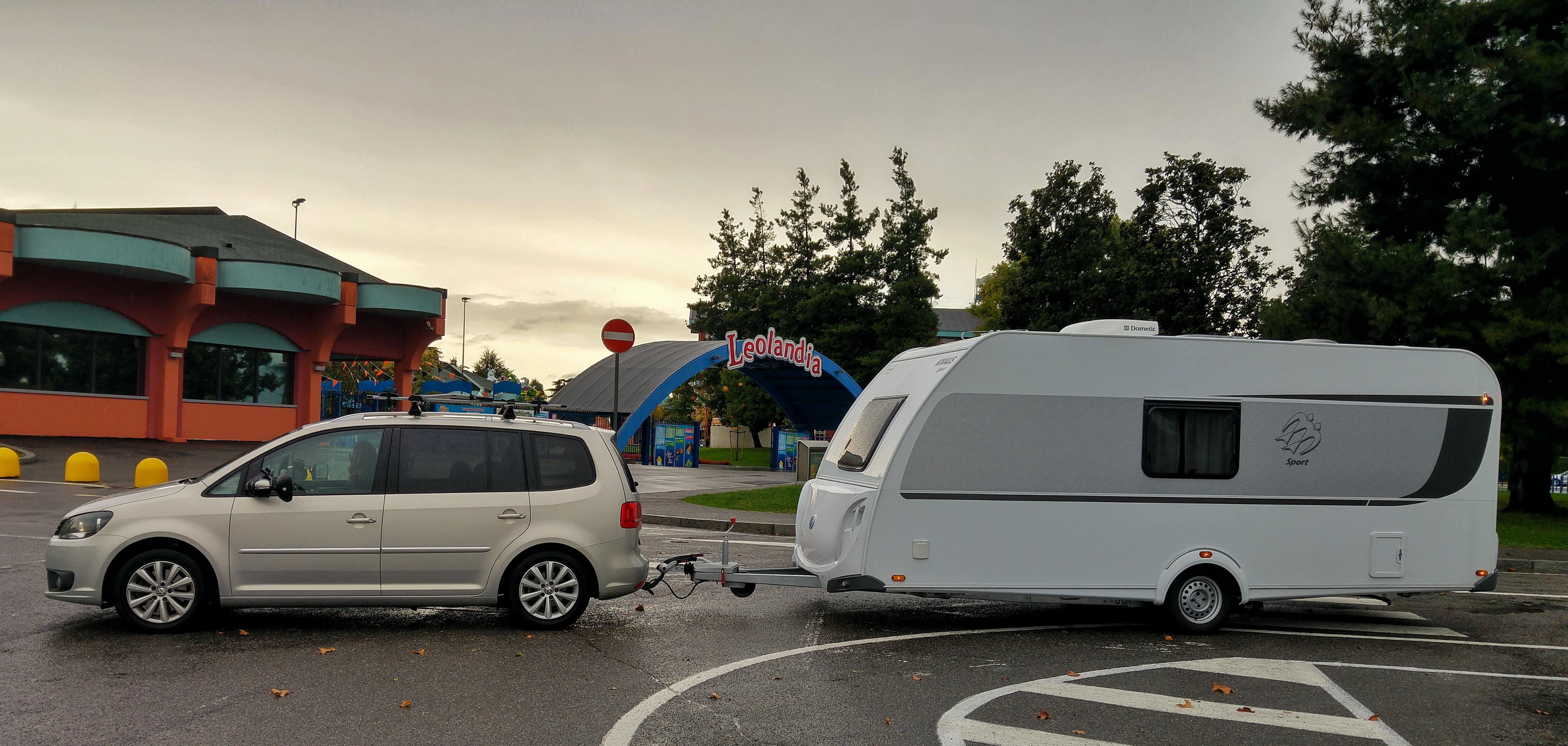 Area sosta Leolandia per camper e caravan