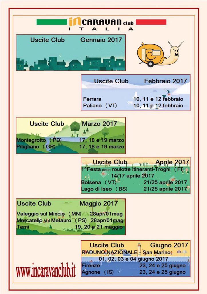 Raduni roulotte 2017