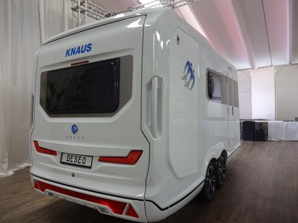 costruire una caravan knaus deseo 2018