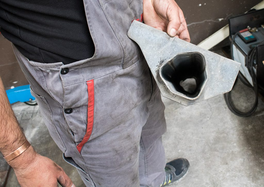 tubo esterno esagonale assale alko