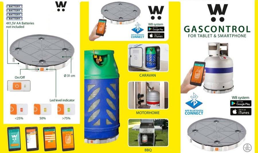 rilevatore livello bombole gas