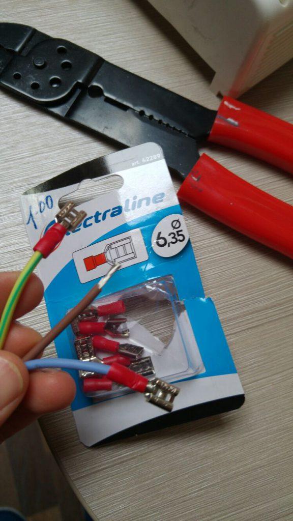 collegamanto elettrico ultraheat