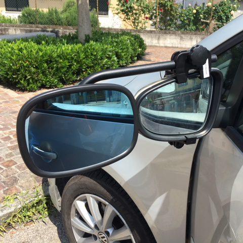 Specchi retrovisori per traino roulotte