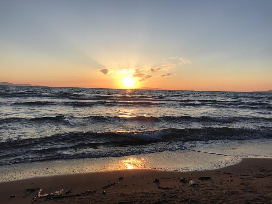 puntala tramonto