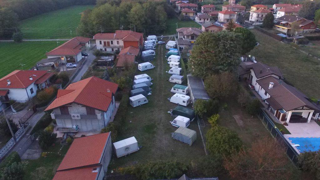 Rimessaggio caravan Milano