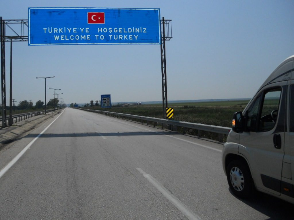 Turchia in camper