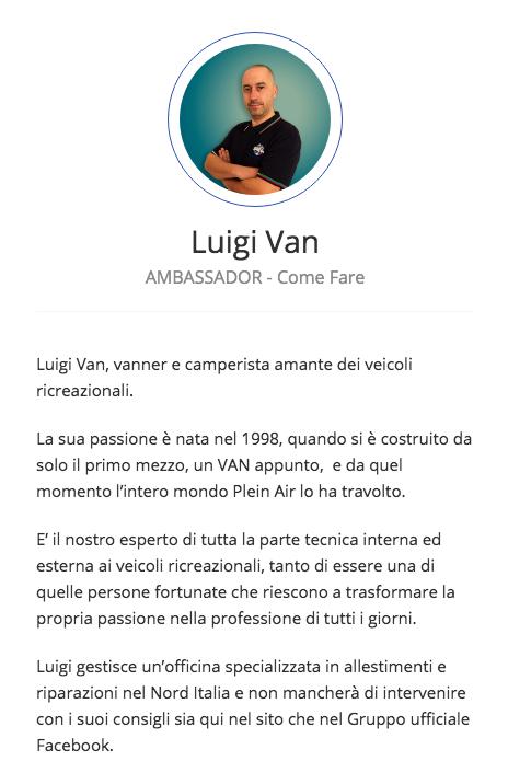 Luigi Camper Van Garage