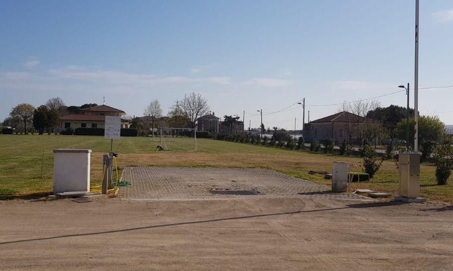 Area sosta camper Rimini carico scarico