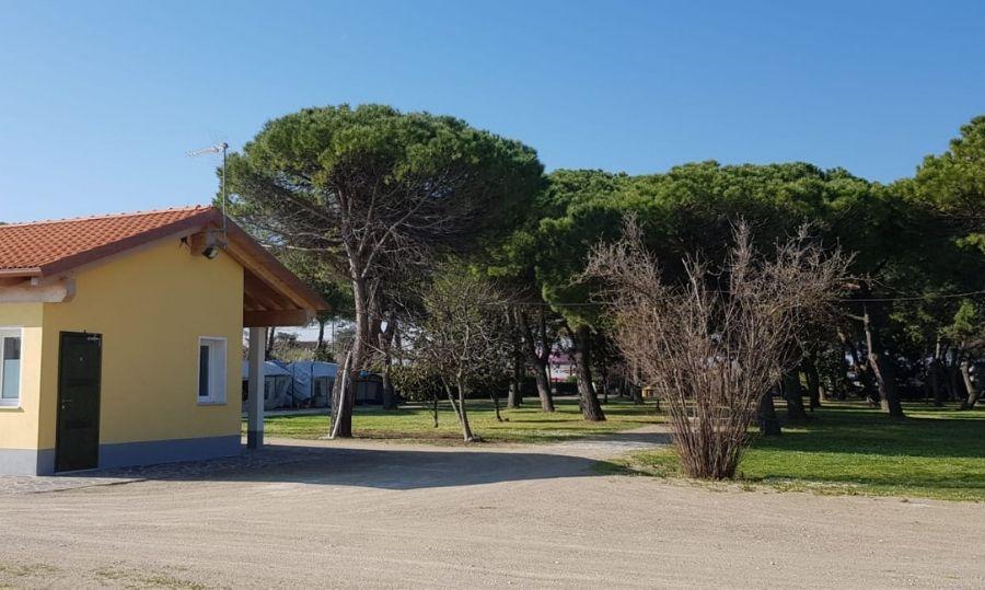 Area sosta camper Rimini pineta