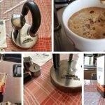 Kamira: caffettiera per camper e caravan