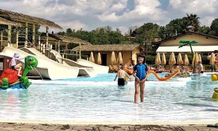 Piani di Clodia Lazise piscina laguna