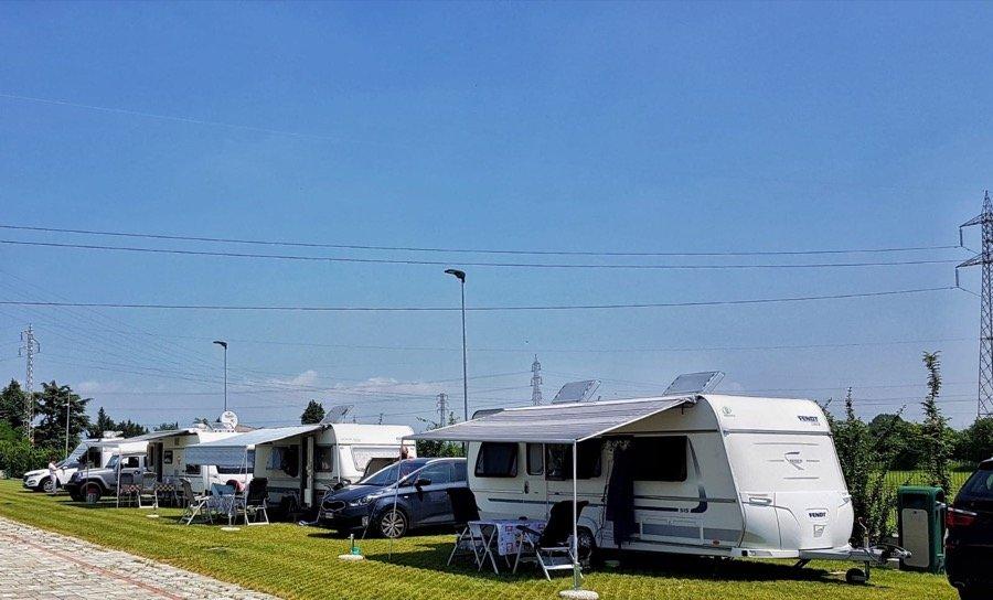 Camping Village Verona: la location del 2° raduno Fendt Caravan