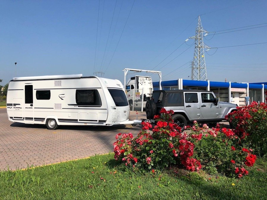 lavaggio caravan