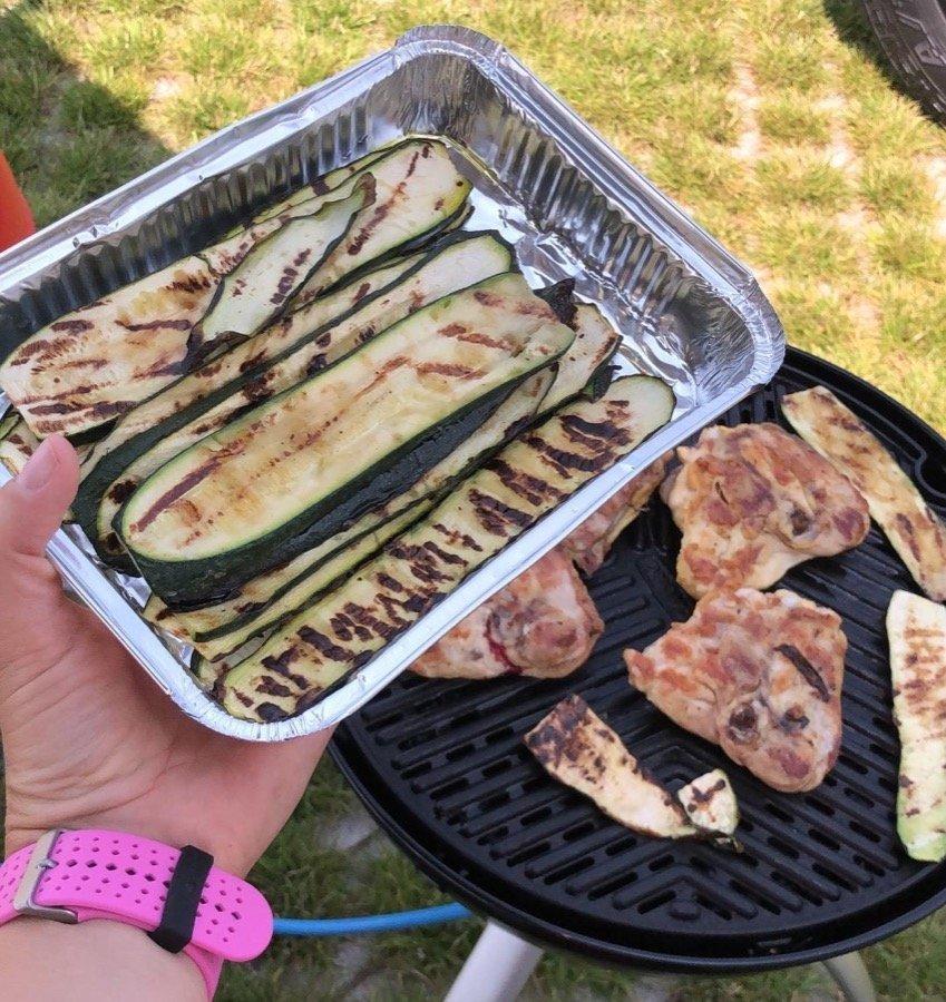 pranzo in campeggio