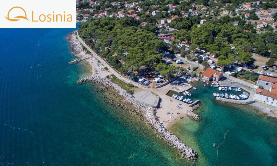 camping rapoca vacanza croazia mare
