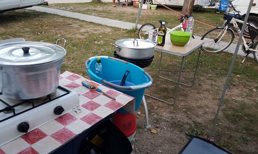 fornello da campeggio
