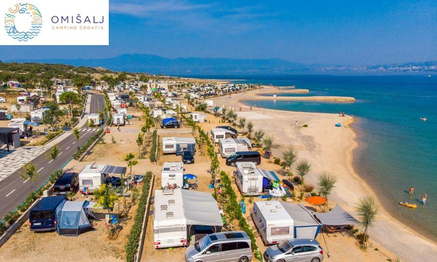 vacanze croazia krk mare camping omisalij