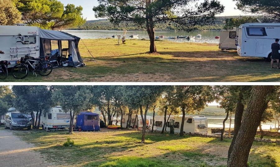 camping lopari piazzole mare