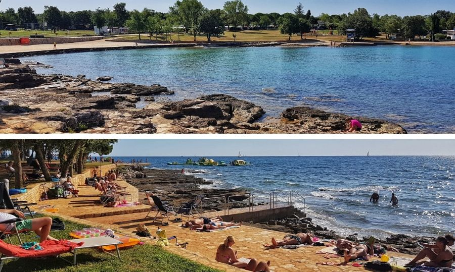 camping park umag Spiaggia e mare