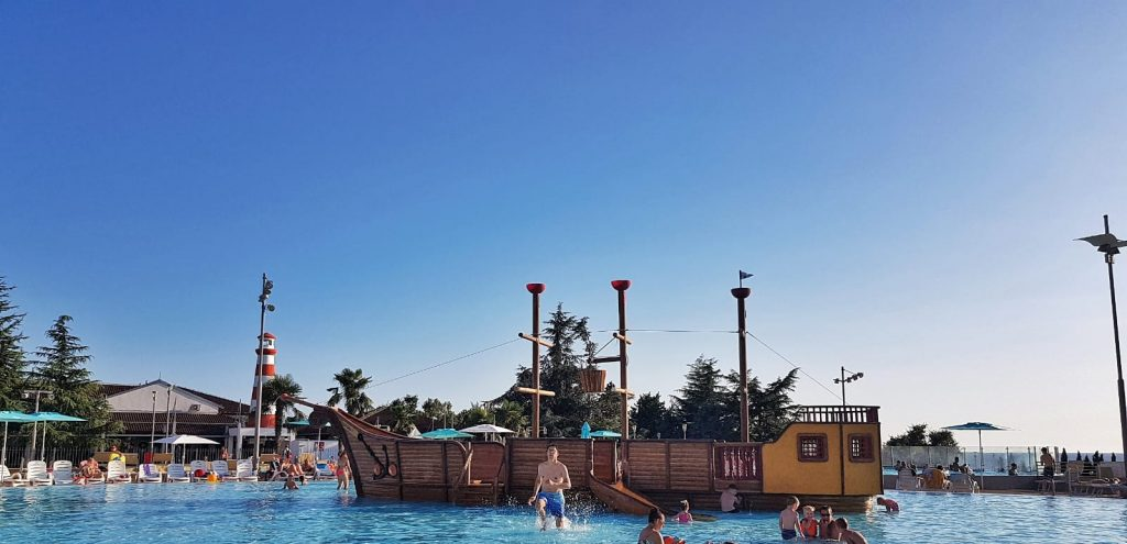 camping park umag piscina