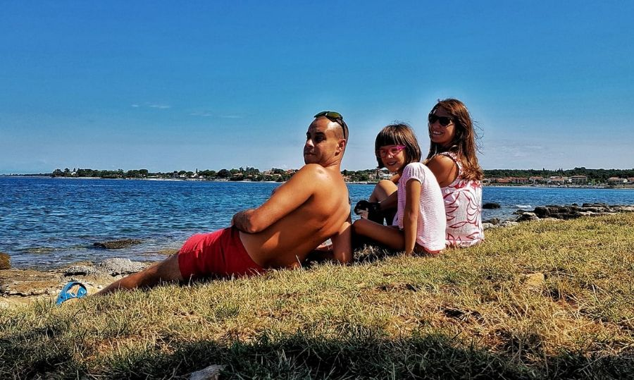 camping park umag spiaggia cani
