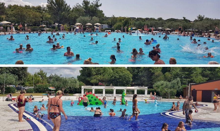 camping polari piscine