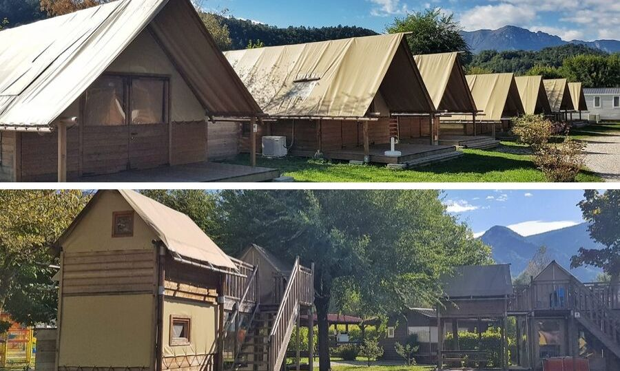 lago levico camping village glamping